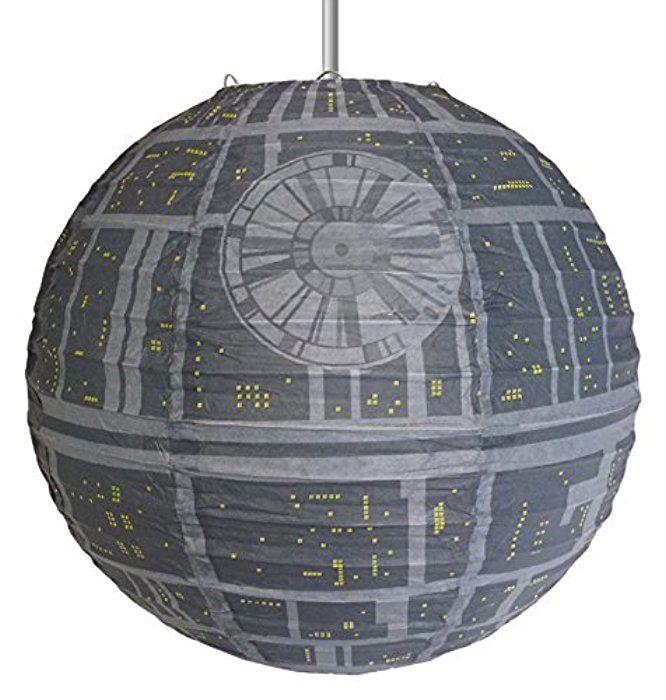 Star Wars Suspension Luminaire Etoile De La Mort 30 Cm Noel