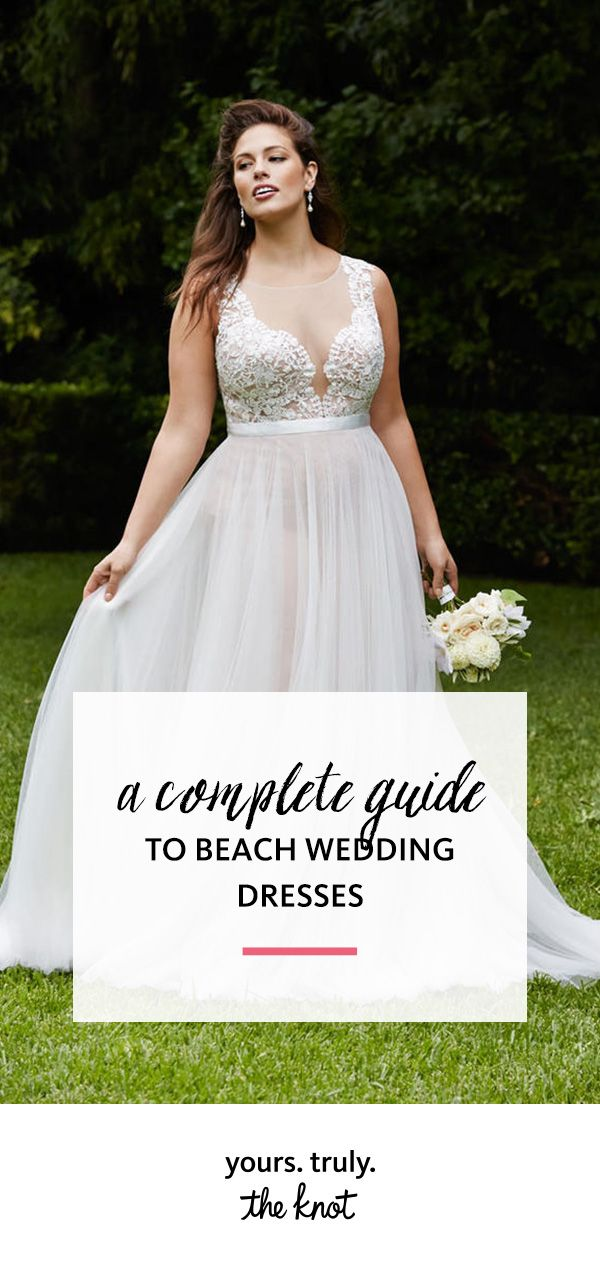 A Complete Guide To Beach Wedding Dresses
