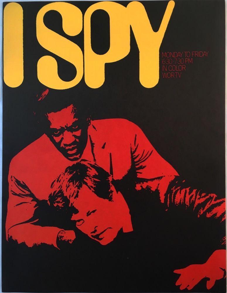 Rare I Spy Tv Show Advertising Spot Sales Brochure WorTv Bill