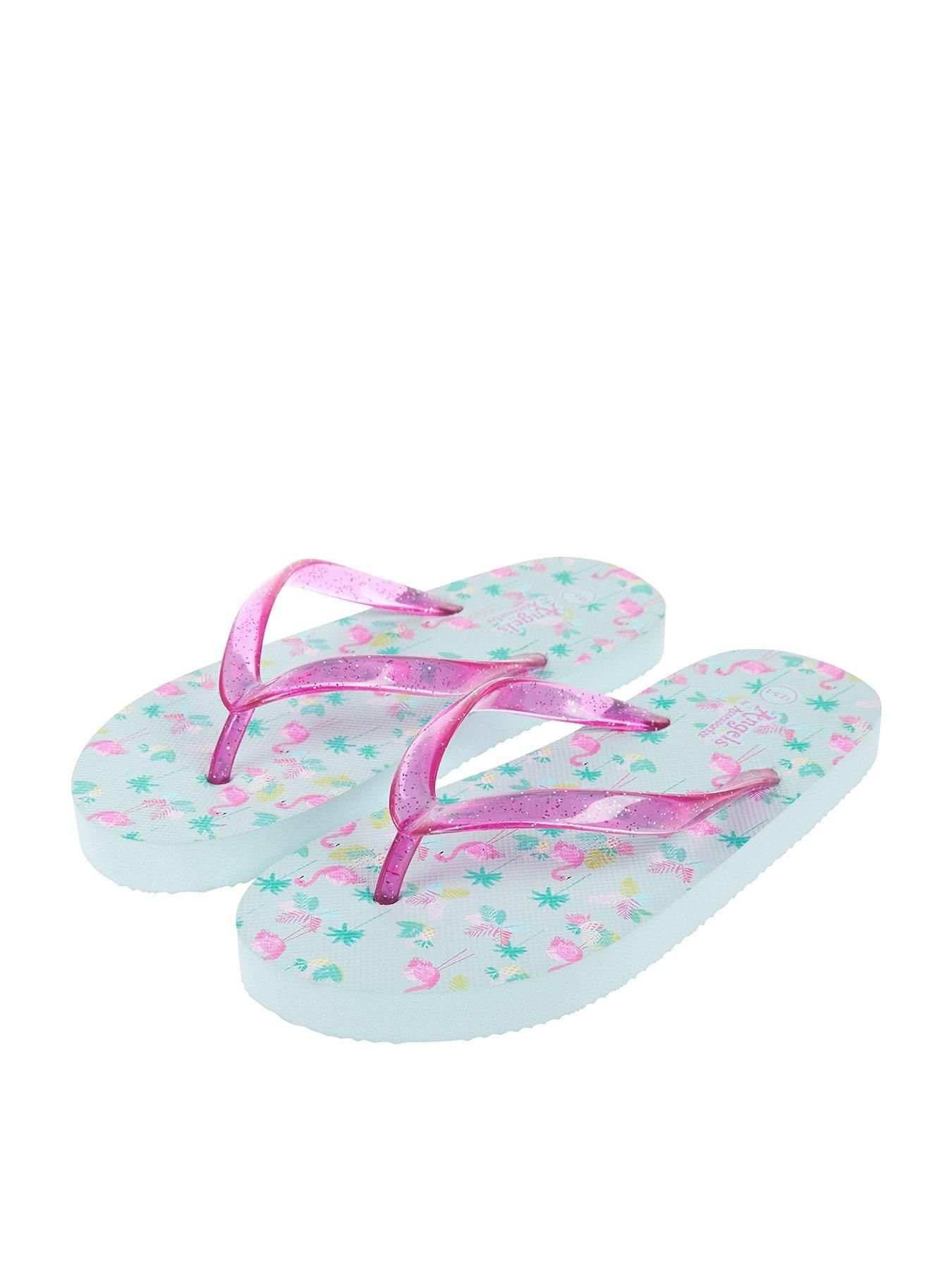 2ec7a0d7f142 Accessorize Tropical Flamingo Print Eva Flip Flop