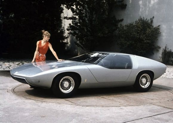 opel coupe diplomat concept car of 1969
