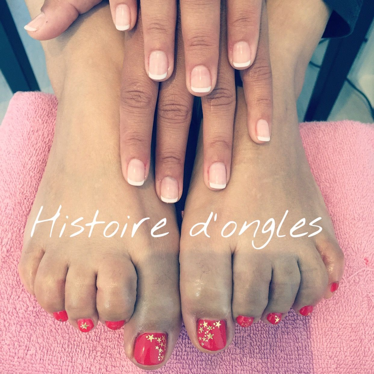 About baby boomer nail art tutorial by nded on pinterest nail art -  Histoiredongleslarochelle Pronails Semipermanent Vernis Nailart