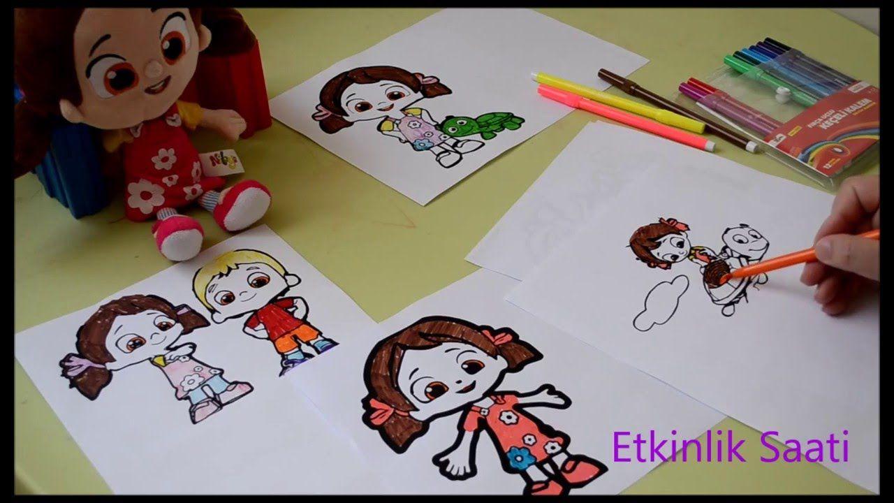 Niloya Boyama 4 Pinturas Dibujos