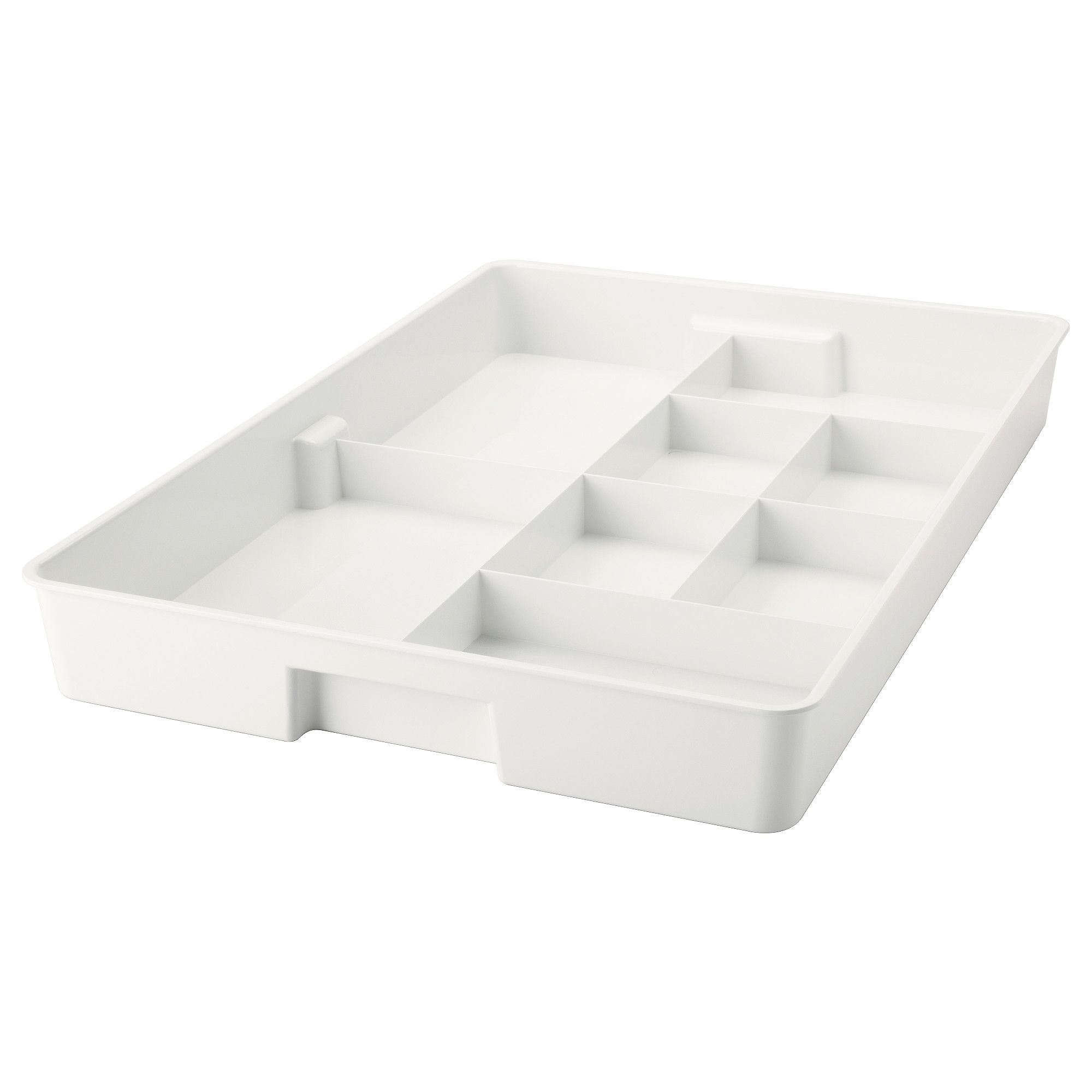 KUGGIS Insert with 8 compartments, white | Organizations, Makeup ...