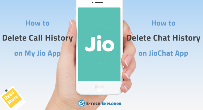 How Can I Permanently Delete Call History on My Jio App