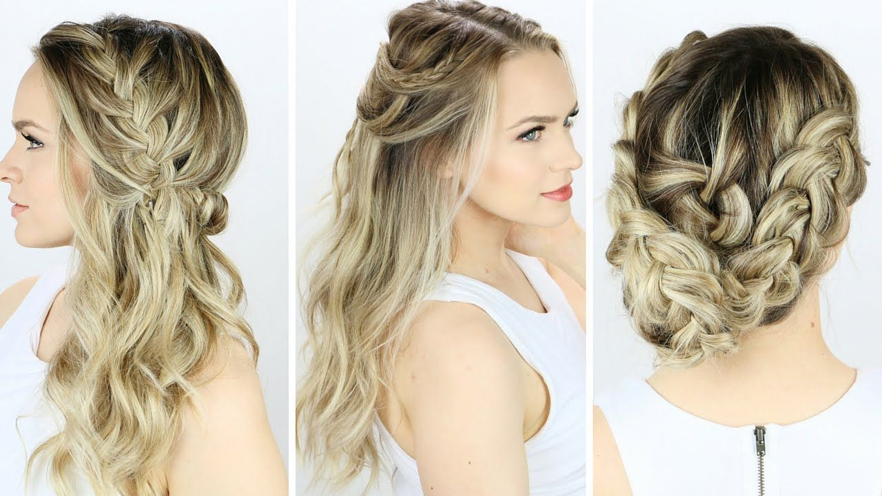 3 prom or wedding hairstyles you can do yourself! | prom