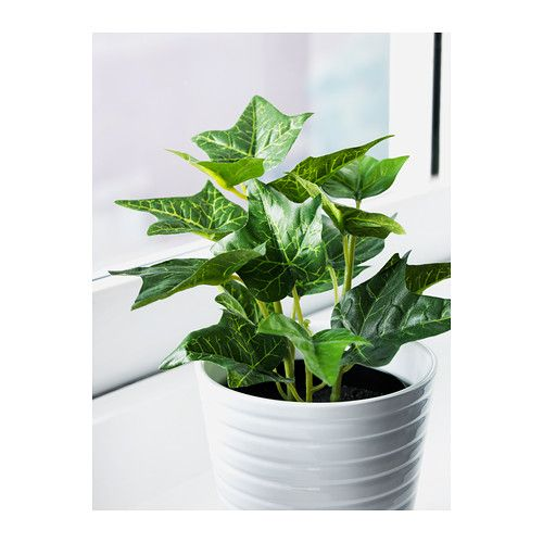 fejka plante artificielle en pot ikea objets d co