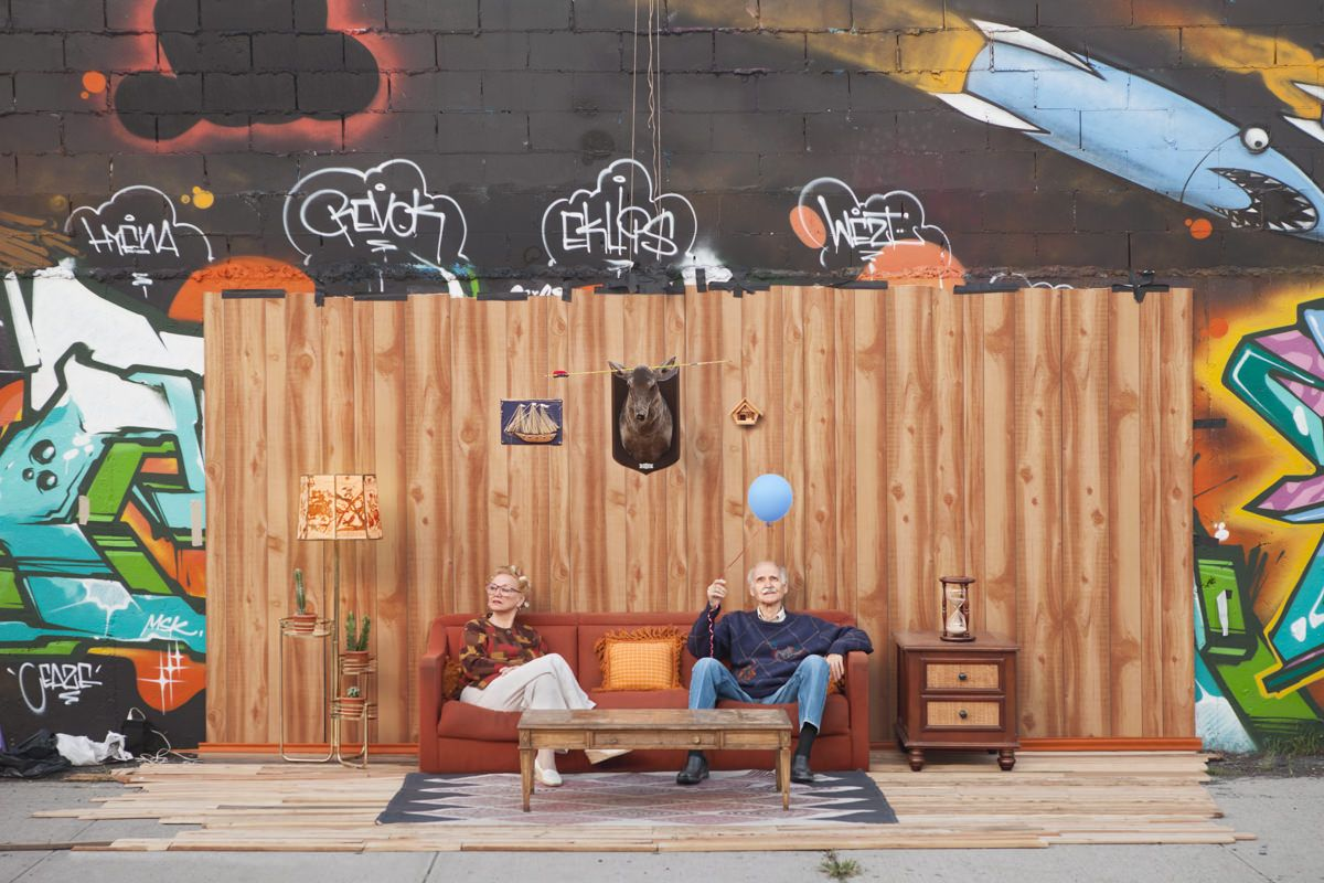 Set In The Street- Turning Junk Furniture Into Sidewalk Living Rooms