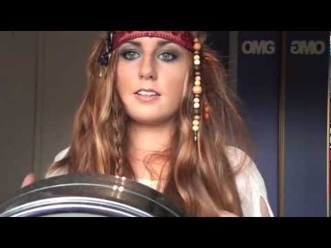 Pirates of the caribbean 4 makeup hair and costume youtube 25 argh tastic diy pirate costume ideas diy projects do it yourself projects and crafts solutioingenieria Image collections
