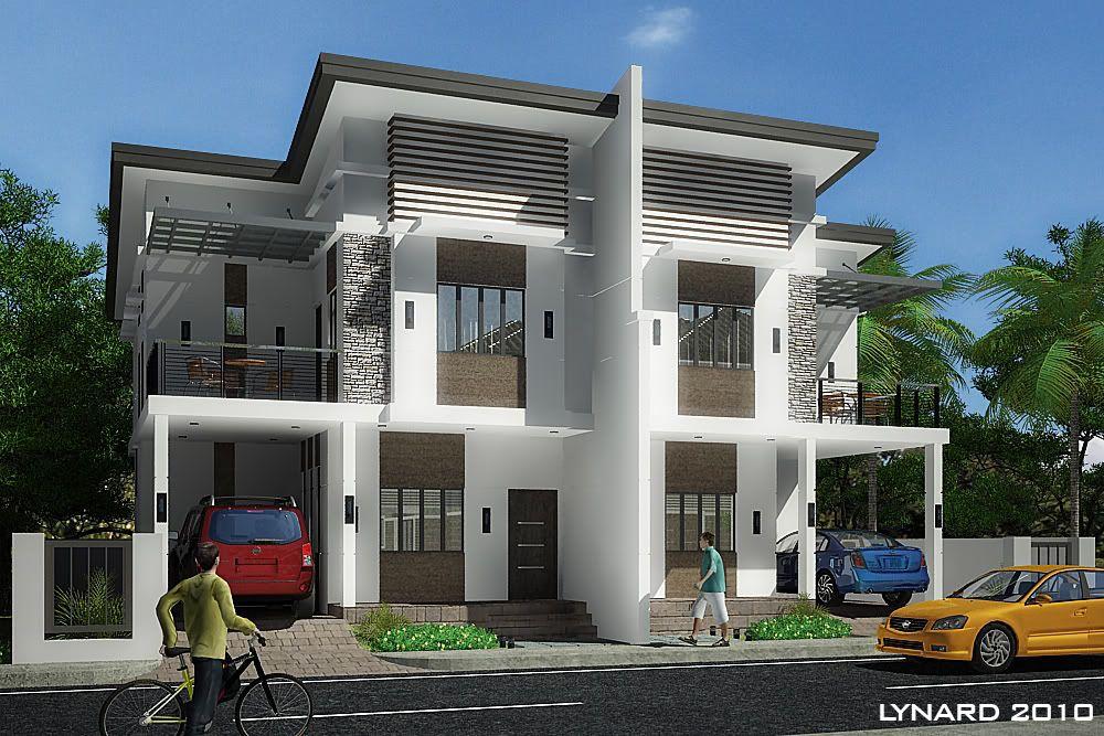 Modern Duplex Update W Wires Ev Mimarisi Modern Mimari Ev Dis Tasarimi