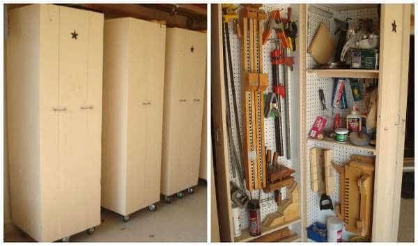 14 Super Idees De Rangement Pour Le Garage Amenagement Idee Rangement Rangement Garage Et Etagere Garage