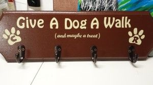 Dog Leash Placque by Andrea Steinmetz using Square 1 Color Sheets