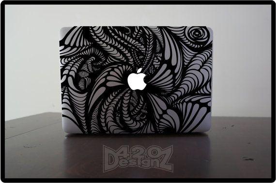 Pattern Macbook Air Macbook Pro Macbook Decals Sticker Etsy Macbook Decal Stickers Macbook Stickers Macbook Decal