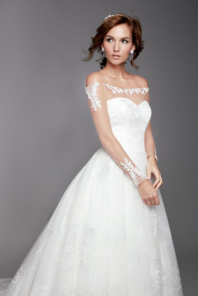 Singapore Wedding Gown; Wedding Gown Rental; A-line Wedding Gown ...