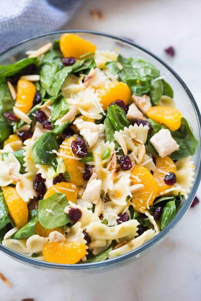 Healthy Chicken Pasta Salad | Recipe | Healthy chicken ...
