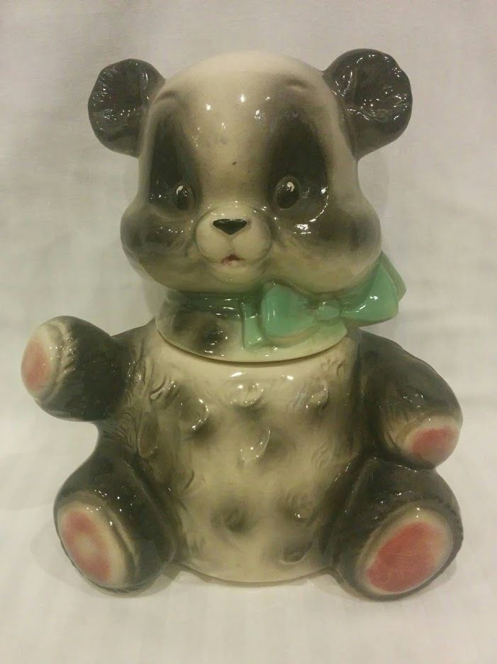 Panda Cookie Jar Reptile в 2019 г Mccoy Cookie Jars