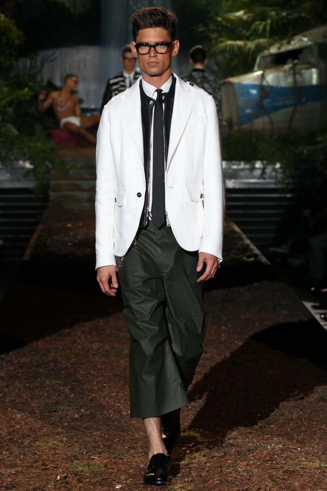 Show Review: DSquared2 Spring 14 Men Ready To Wear