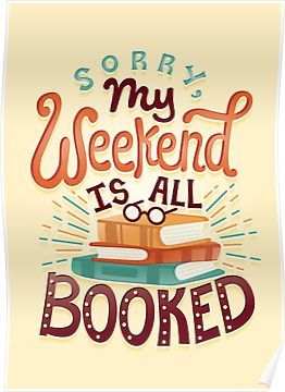 I'm booked Poster by Risa Rodil