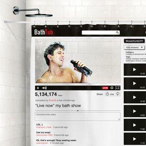Youtube Shower Curtain Bathtub Shower Bathroom Shower Curtains