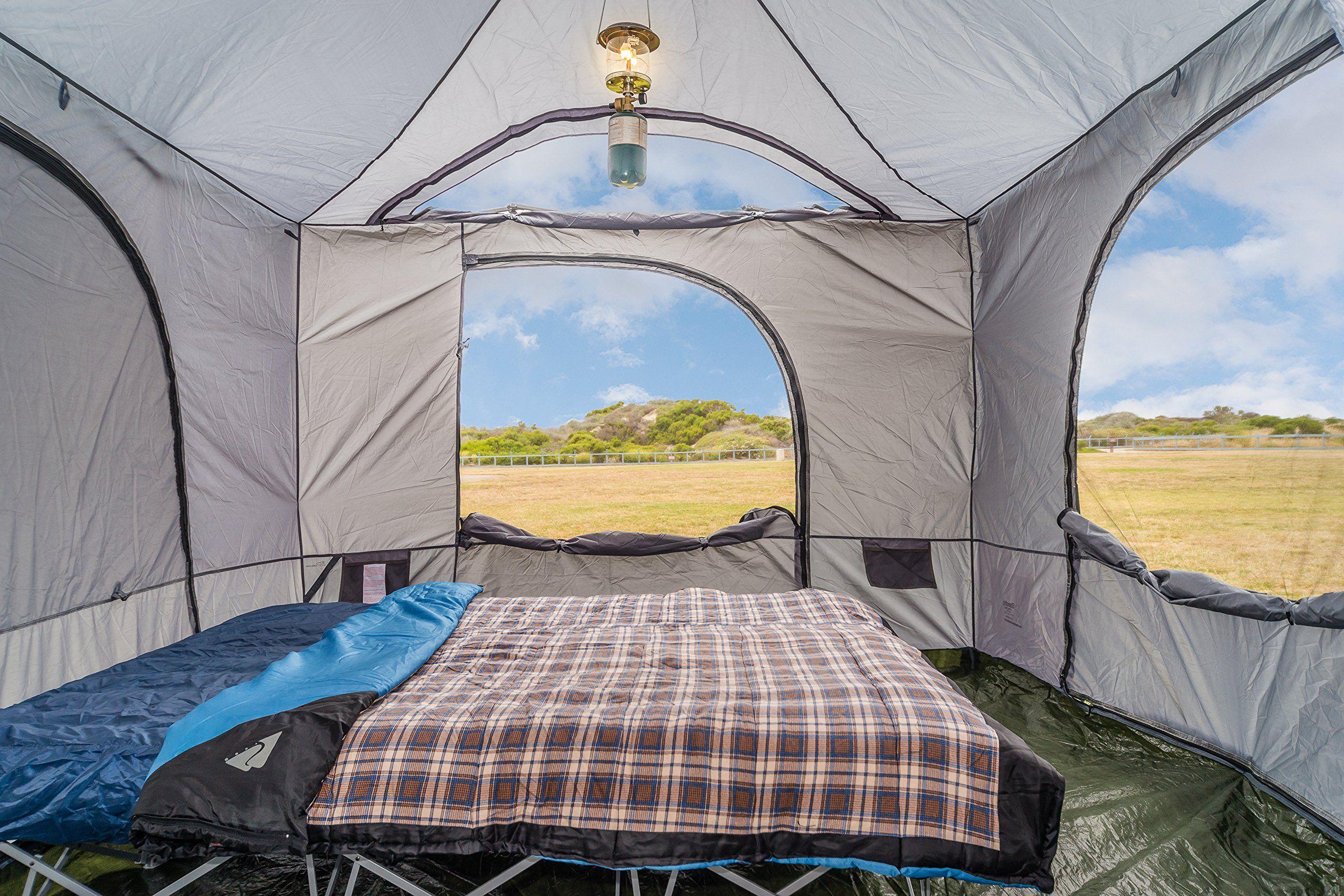Standing Room PREMIUM Family Cabin Tent 8.5 OF HEAD ROOM 4 ...