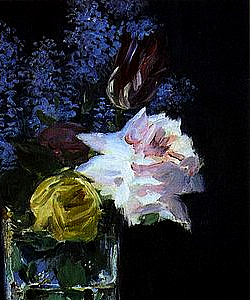 Flowers by Édouard Manet,
