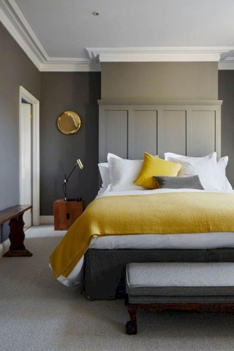Master bedroom yellow walls  Admirable Master Bedroom Design And Decor Ideas  BEDROOM
