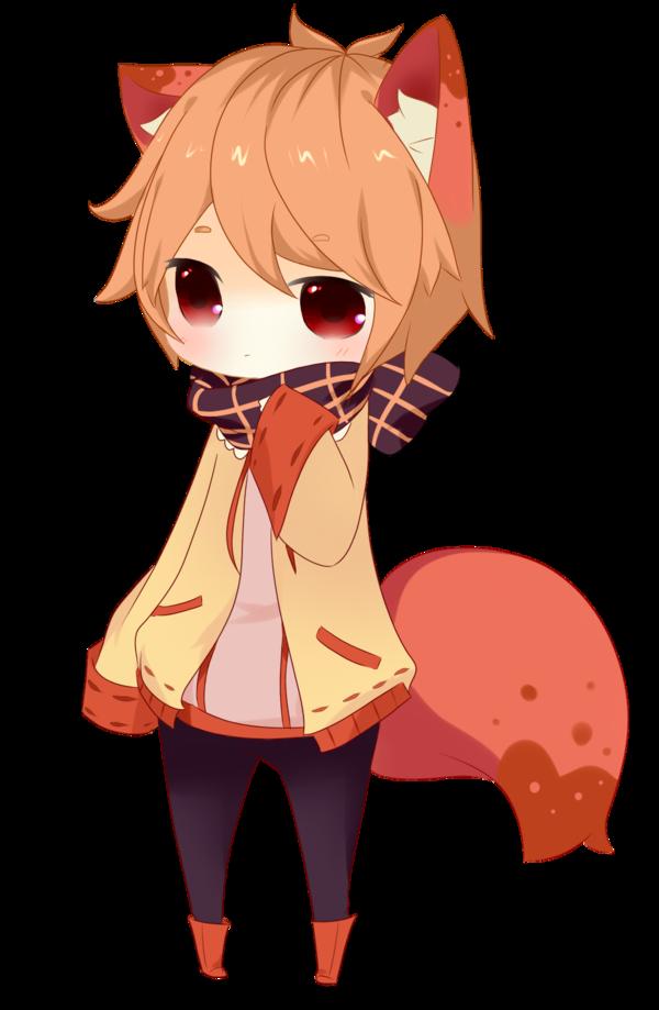 GiftFoxkun by Tetsucchi Cute anime chibi, Anime fox