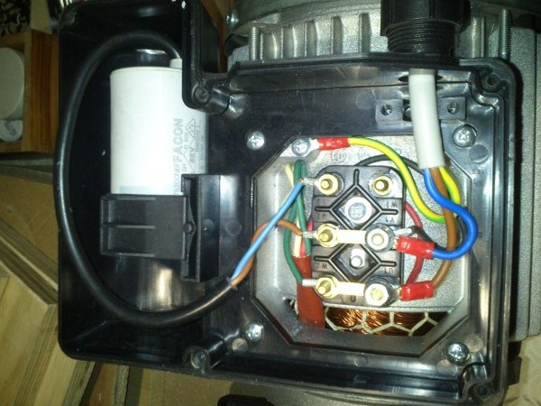 Malta Per Riparazioni Collegamento Condensatore Motore Monofase 4 Fili Condensatori Motori Motore Elettrico