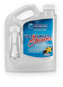 """""""Spray once a week, let it sit overnight, rinse the next day and it stays spotless. I did hyper-clean the shower before using it, and it's as clean now as it was a month ago when I got it spotless."""""""