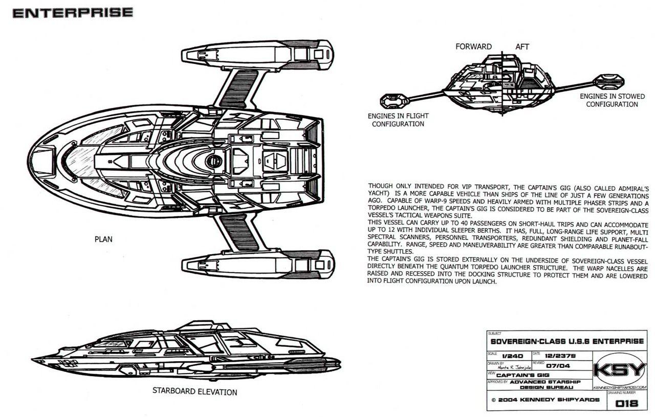 Sovereign Class Captain S Yacht Schematics