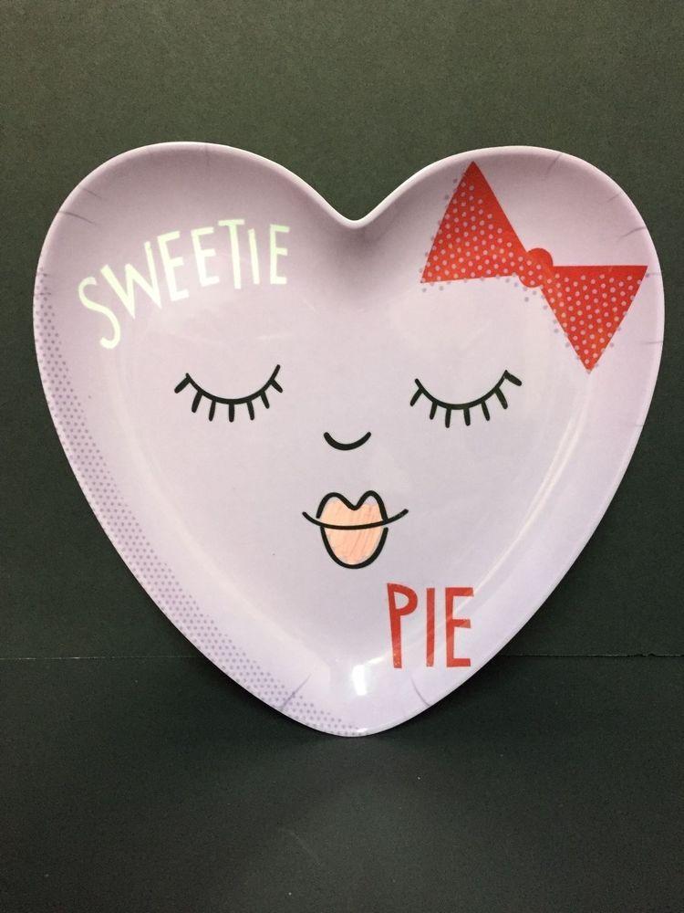 Pottery Barn Kids Valentine S Day Sweetie Pie Plate Girl