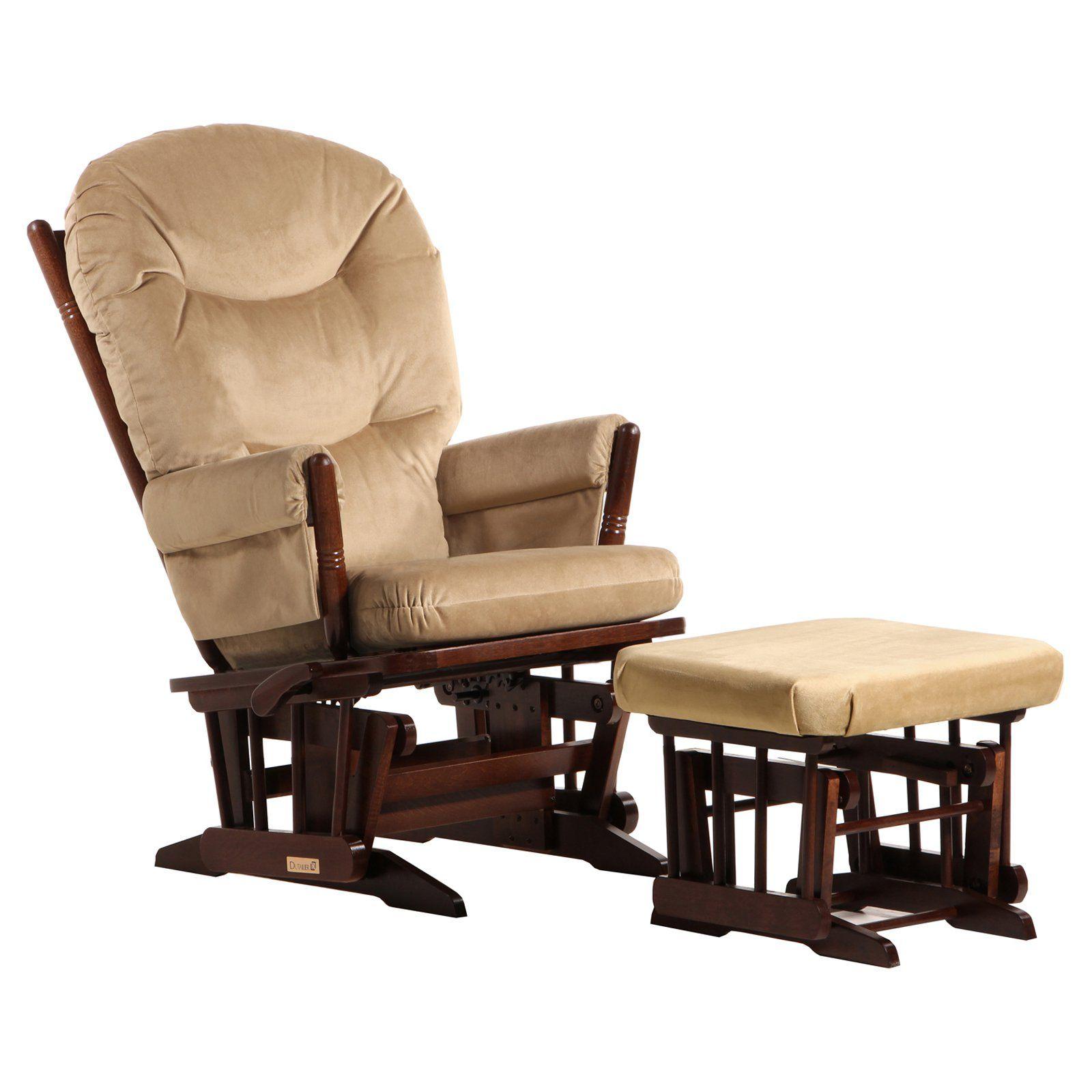 Fantástico Muebles Gliderottoman Rosa Composición - Muebles Para ...