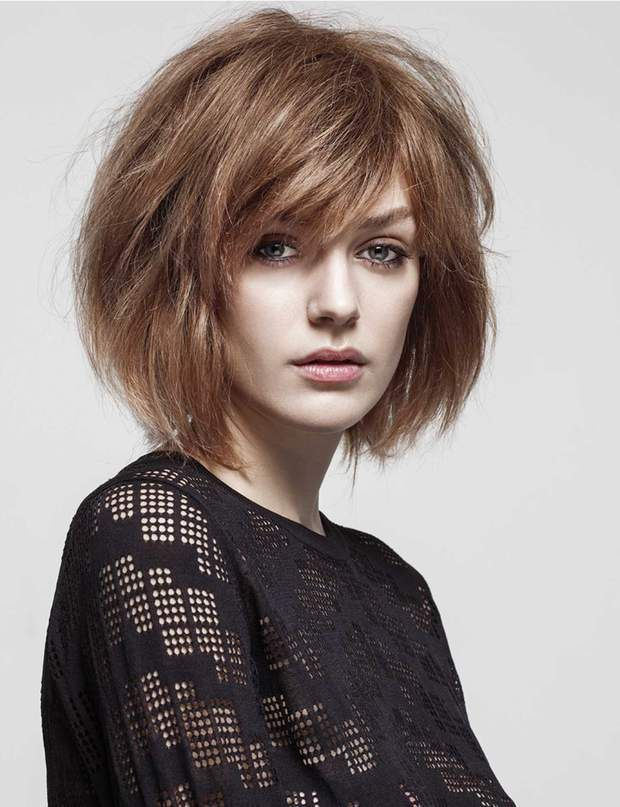 coupe cheveux carre froisse