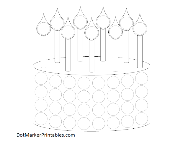 Printable Dot Marker Pages For