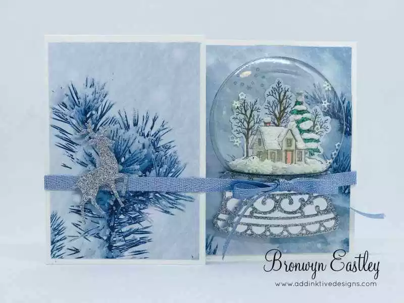 Stampin' Up! Still Scenes Bundle & First Frost DSP #frostings
