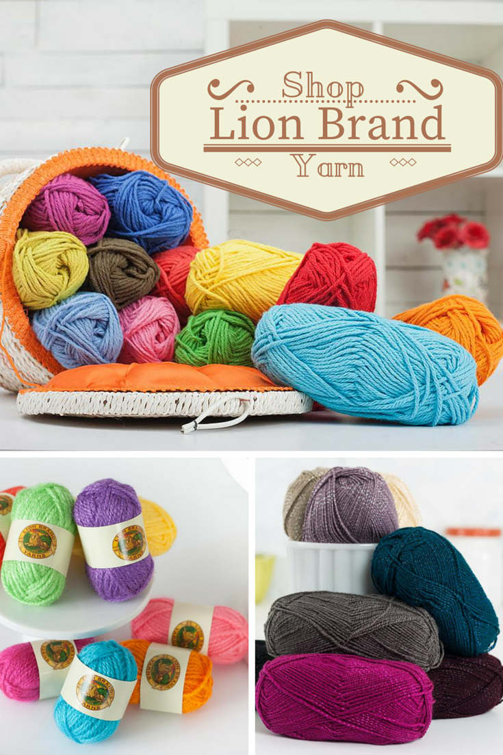 Make wonderful knitting creations with Lion Brand yarns. Use this ...