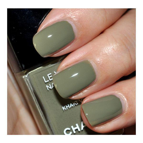 Chanel Les Khakis de Chanel Le Vernis (Nail Lacquer) Review, Photos ...