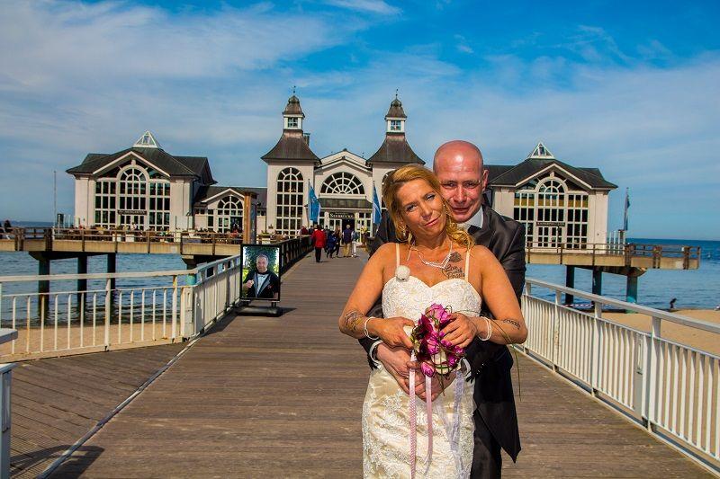 Hochzeit Von Klaudi Torsten Auf Der Seebrucke Sellin