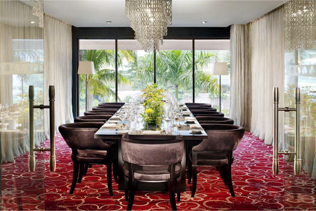 beaujolais lyon private dining room at mandarin oriental, jakarta