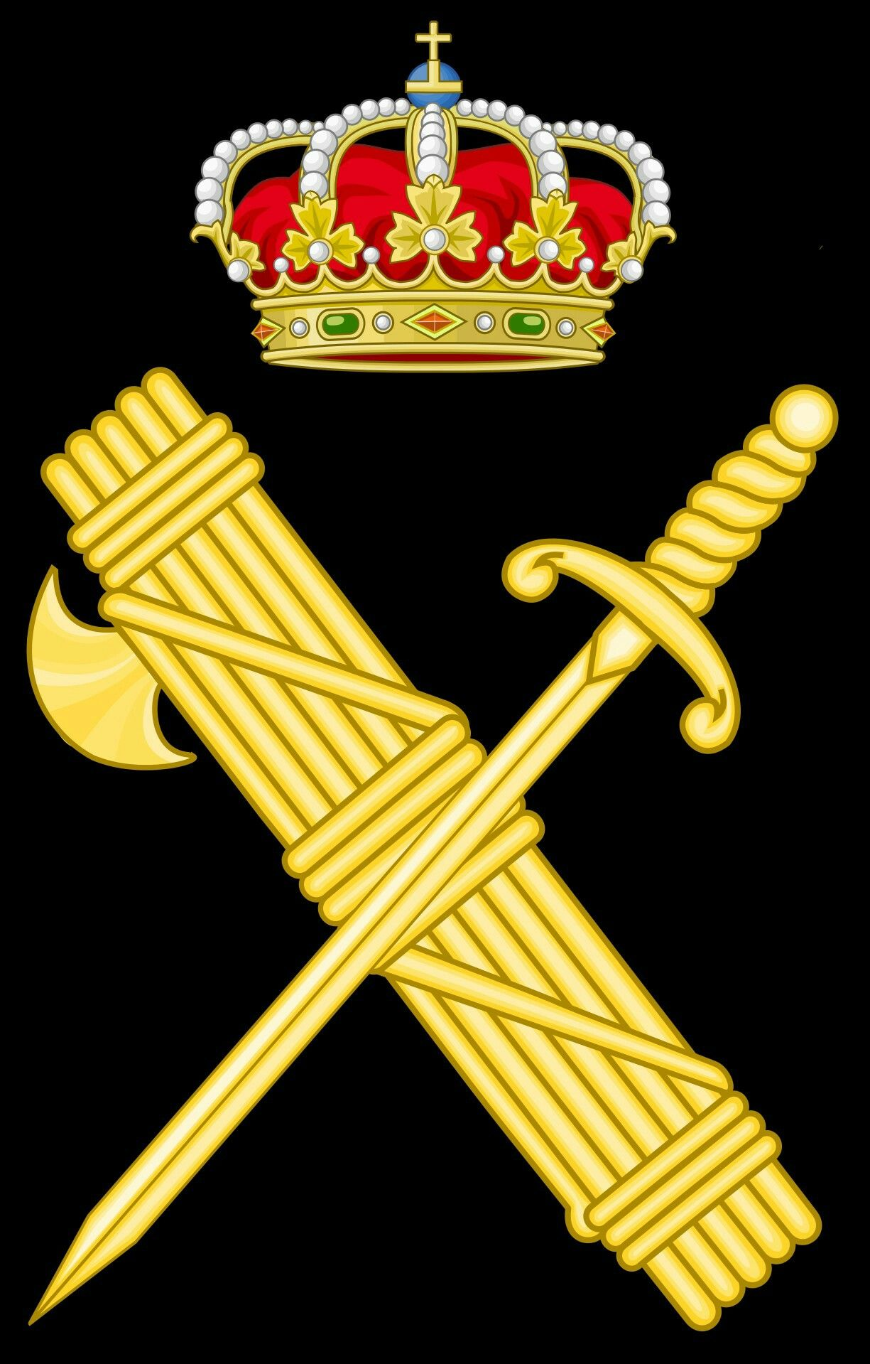 Emblemas de la Guardia Civil . | GUARDIA CIVIL | Pinterest | Guardia ...