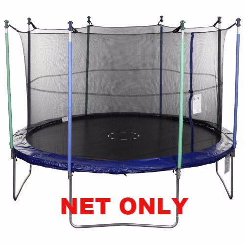 14' -8-Straps/Buckles Trampoline Replacement Safety Net