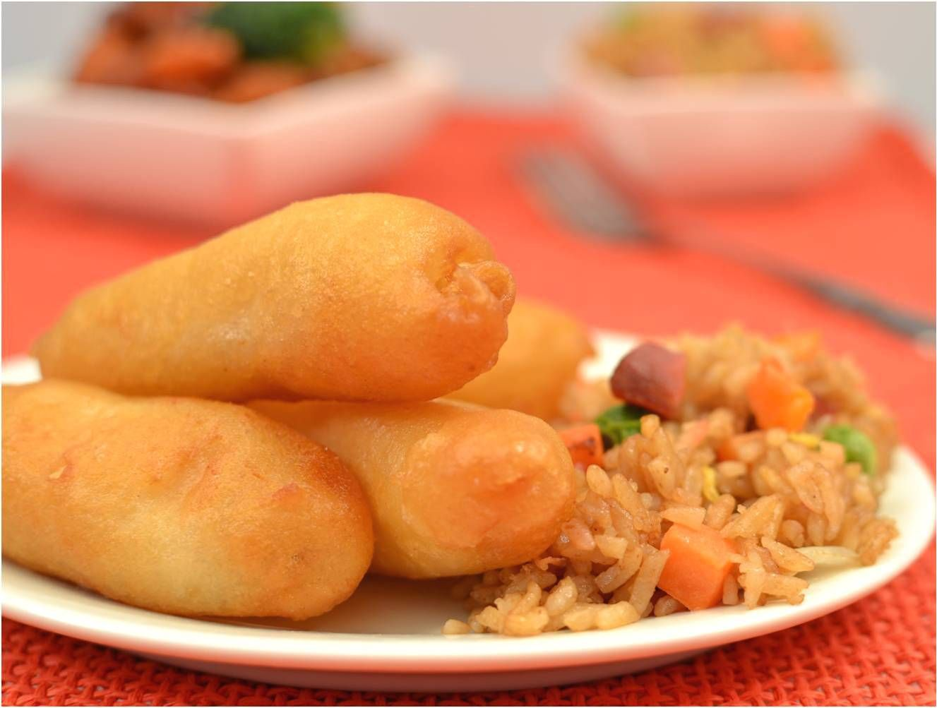 Chinese food is a must for new years eve and you must