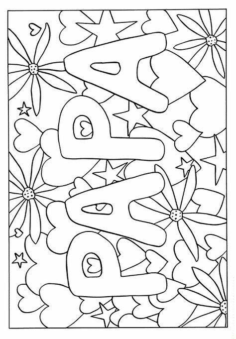 ausmalbilder vatertag zum ausdrucken  tiffanylovesbooks