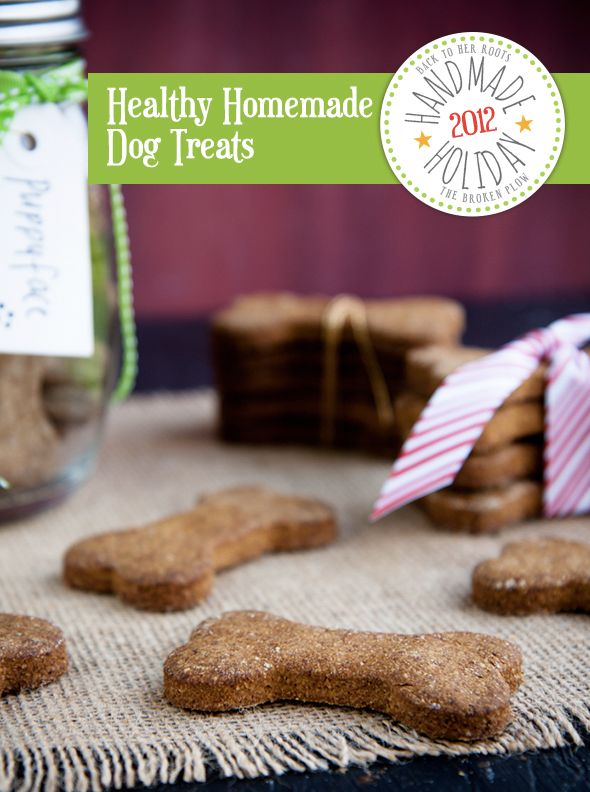 how to make healthy homemade dog treats
