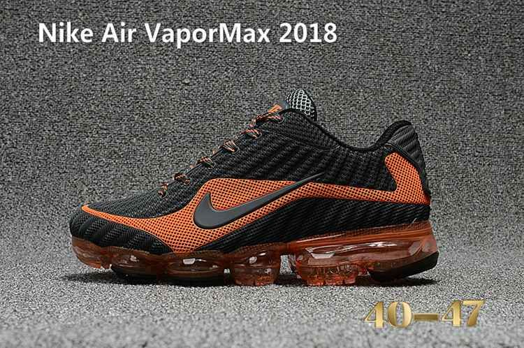new products 253b8 295fa Nike Air Vapor MAX 2018 KPU Running Men Carbon Grey Orange 40-47