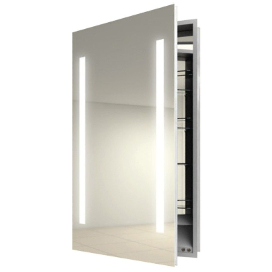 Furniture Pegasus Medicine Cabinet For Plenty Storage And A From - Recessed built in bathroom mirror cabinet