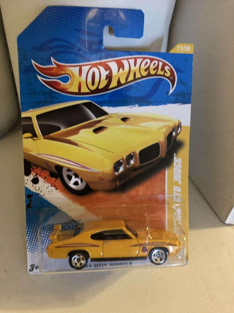 Details about Hot Wheels 2011 New Models '70 Pontiac GTO The