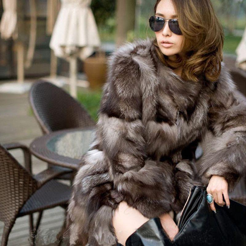 0a841adb56ab2 Best quality new fashion in winter Fox fur coats woman real fur coat women s  vest natural