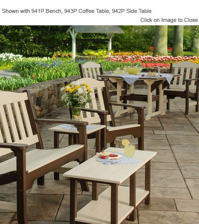 Finch Poly Furniture Avonlea Garden Chair Outdoor Poly Furniture