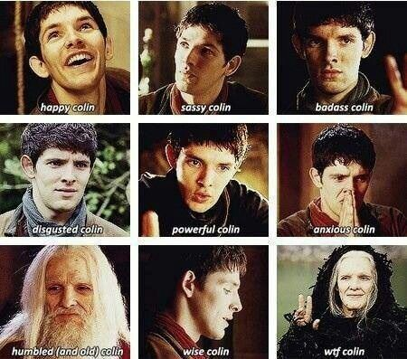The many faces of Colin Morgan
